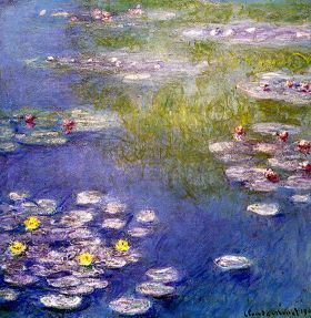 Claude Monet Nympheas at Giverny
