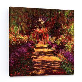 Claude Monet Path in Monets Garden