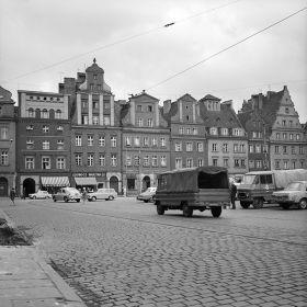 Wroclaw Kamienice przy placu Solnym