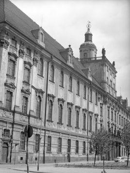 Wrocław Gmach główny Uniwersytetu Wrocławskiego