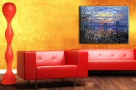 Claude Monet Sunset on the Seine