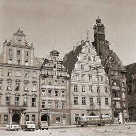 Wrocław - Widok na zachodnią stronę Rynku