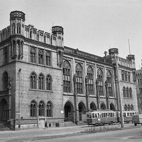 Wrocław - Gmach Nowej Giełdy przy ul. Włodkowica