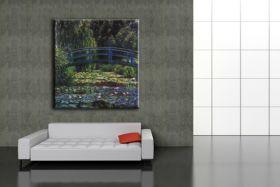 Staw lilii wodnej - Claude Monet  - reprodukcja