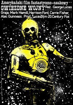 Gwiezdne Wojny, plakat filmowy