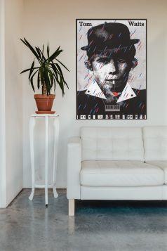 Tom Waits, plakat muzyczny
