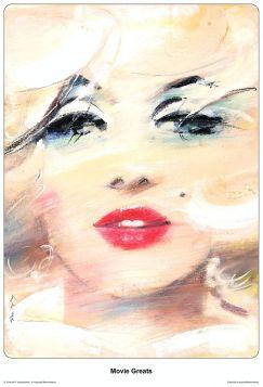 Marilyn Monroe, plakat filmowy