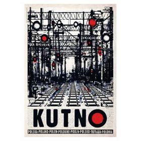 Kartka pocztowa - Kutno (Polska Szkoła Plakatu, Ryszard Kaja)