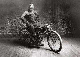 Motocyklista - plakat