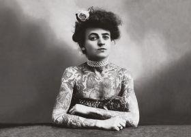 Tatuażystka - plakat