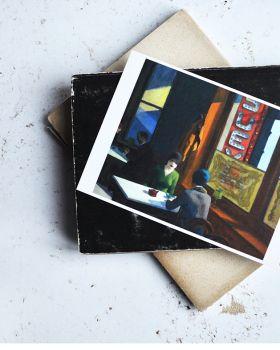 Kartka premium - Chop Suey, Edward Hopper