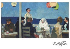 Kartka Premium - Niebieska Noc, Edward Hopper