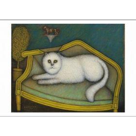 Kartka pocztowa - Agora Cat
