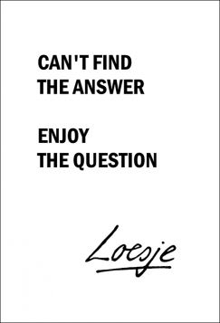 Kartka pocztowa - Can't find, Loesje