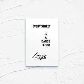 Kartka pocztowa – Every Street, Loesje