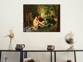 Śniadanie na trawie - Edouard Manet - reprodukcja