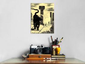 Spotkanie kotów - Edouard Manet - reprodukcja