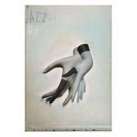Kartka pocztowa - Jazz  (Polska Szkoła Plakatu, Jacek Staniszewski)