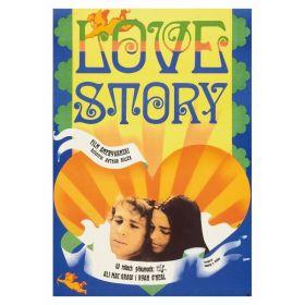 Kartka pocztowa - Love Story (Polska Szkoła Plakatu, Jakub Erol)