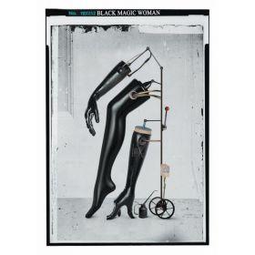 Kartka pocztowa - Black Magic Woman (Polska Szkoła Plakatu, Jacek Staniszewski)