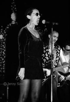 Jerzy Szot - Maanam, Kora (Olga Jackowska), 1994 r.