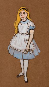 Alicja - Alicja w Krainie Czarów, magnes