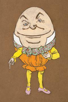 Humpty Dumpty - Alicja w Krainie Czarów, magnes