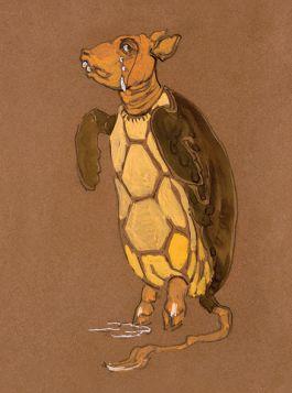 Żółwiciel - Alicja w Krainie Czarów, magnes