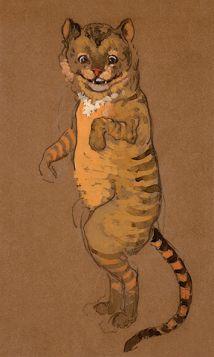 Kot z Cheshire - Alicja w Krainie Czarów, magnes