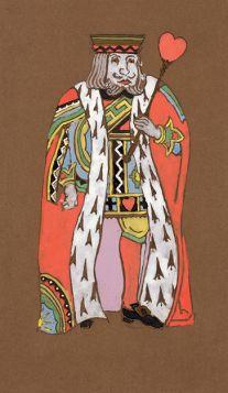 Król serc - Alicja w Krainie Czarów, magnes