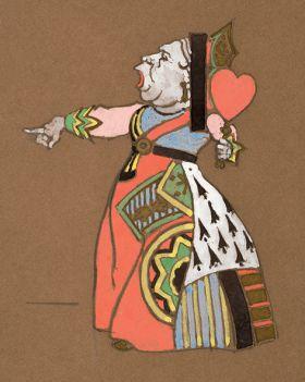 Królowa Serc - Alicja w Krainie Czarów, magnes