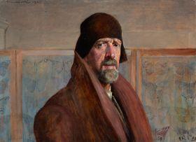 Jacek Malczewski - Autoportret - reprodukcja