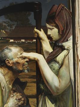 Jacek Malczewski - Śmierć (1902) - reprodukcja