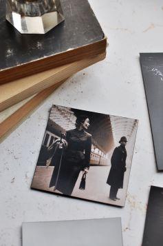Zestaw magnesów - Fotografia vintage, Toni Frissell, Sepia
