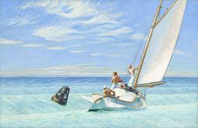 Edward Hopper - Ground Swell - magnes