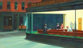 Edward Hopper - Nocne Marki - magnes