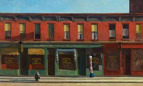 Edward Hopper - Early sunday monrning - magnes