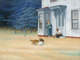 Edward Hopper - Cape Cod Evening - magnes