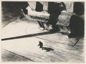 Edward Hopper - Night Shadows - magnes