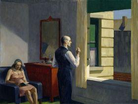 Edward Hopper - Hotel by a railroad - magnes