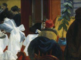 Edward Hopper - New York restaurant - magnes