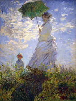 Claude Monet -  La Promenade - magnes