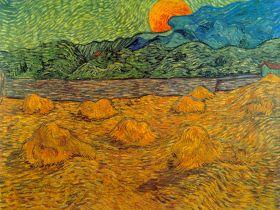 Vincent Van Gogh - Rising Moon - magnes