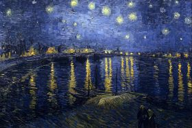 Vincent Van Gogh - Starry Night Over the Rhone - magnes