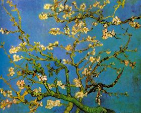Vincent Van Gogh - Blossoming Almond Tree - magnes