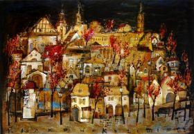 Kraków, Kazimierz (R. Kaja) 48x68 cm