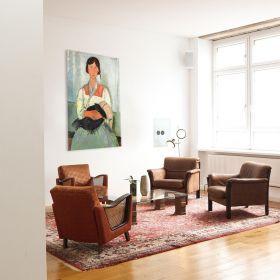 Cyganka z dzieckiem, Amedeo Modigliani - reprodukcja
