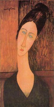 Portret Jeanne Hebuterne (1918),  Amedeo Modigliani - reprodukcja