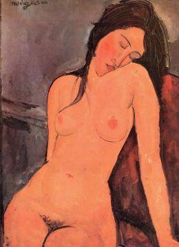 Akt kobiecy (1916), Amedeo Modigliani - reprodukcja