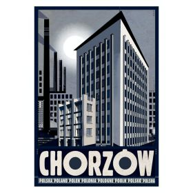 Kartka pocztowa - Chorzów (Polska Szkoła Plakatu, Ryszard Kaja)